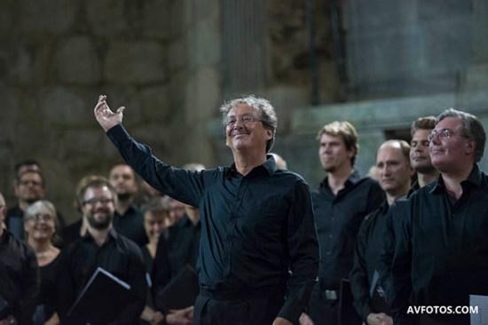 Peter Phillips en Las Navas del Marqués. Festival 2016