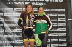 FÉMINAS 1. Elena González 2. Cynthia Coto(ausente 3. Mayte InfanteMASTER 101 KM.
