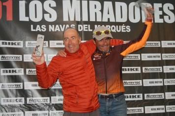 MASTER 50 101 KM. 1. Emiliano del Prado 2. Francisco Aparicio(ausente) 3. Manuel de Paco