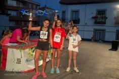 NIÑAS DE 11 Y 12 AÑOS: 1ª 436 Alejandra Díaz, 2ª 359 Evelin Alonso, 3ª 32 Lucía Moreno