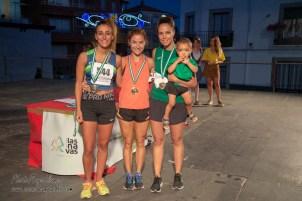 4500M. FEMENINO LOCAL: 1ª 50 Cristina Femenía, 2ª 544 Patricia Verdugo, 3ª 552 Cristina Peña