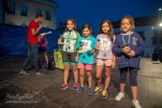NIÑAS DE 8 A 9 AÑOS: 1ª Noa Palo, 2ª María Segovia, 3ª Edurne Sastre y Daniela García