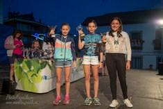 NIÑAS DE 10 A 11 AÑOS: 1º Clara Sánchez, 2ª Celia Serrano, 3ª Ainoa Lopez