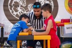 -7años. Aaron Morales con Andrés Eloy