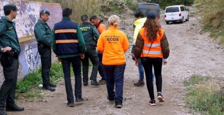 Intensa busqueda llevada cabo por la policía y la guardia civil