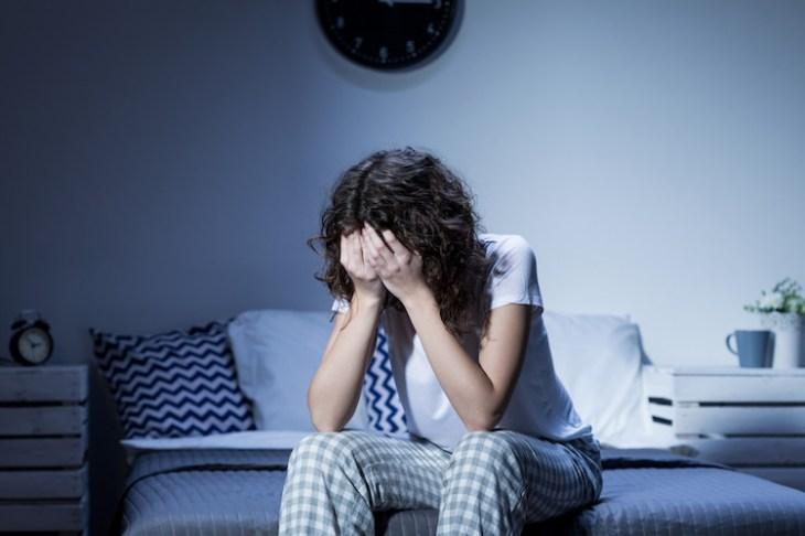El estrés y la ansiedad pueden provocar la falta de sueño