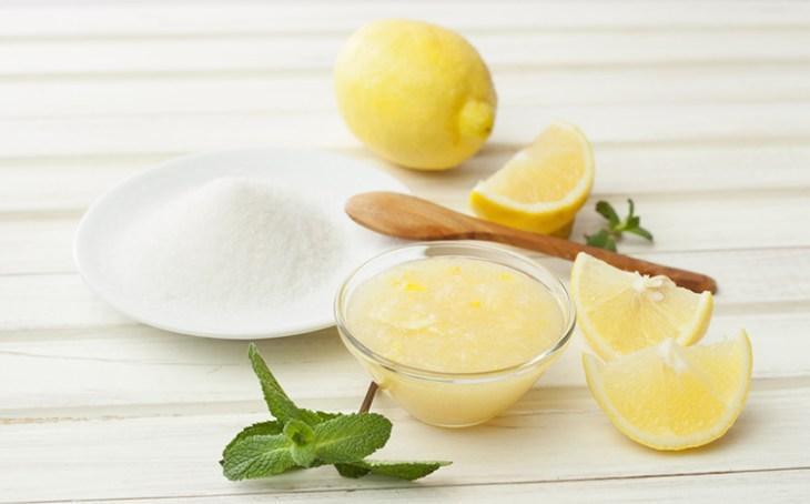 Bicarbonato y limón