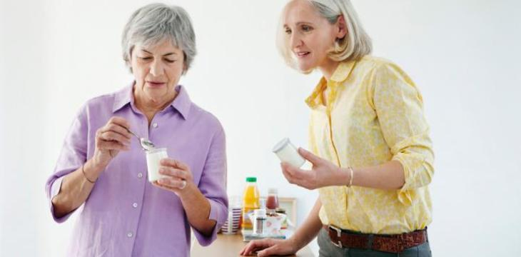 Consumir lácteos ayuda a prevenir la osteoporosis