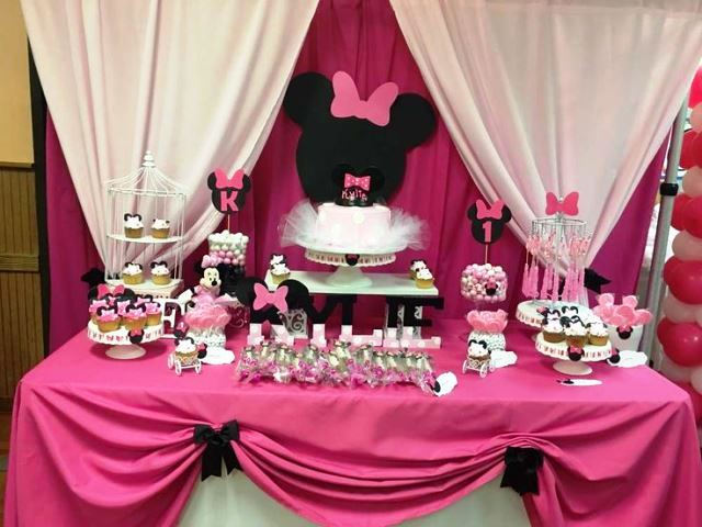 minnie mouse comidas
