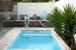 33 Ideas Para La Decoracion De Un Patio Con Piscina - Decoraciones-de-piscinas