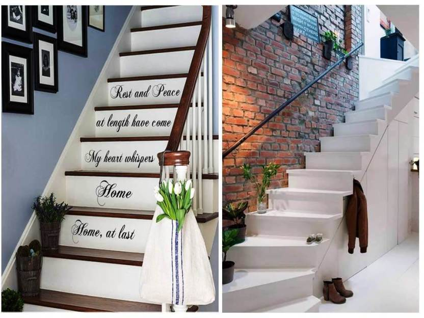 Ideas De Decoración De Escaleras Interiores Para La Casa