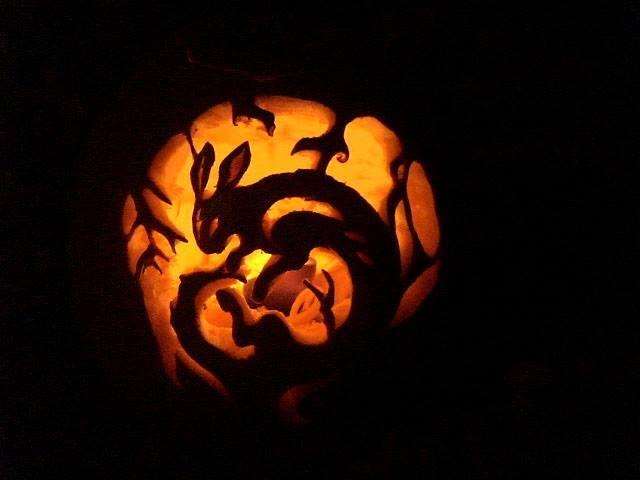 rabbit pumpkin