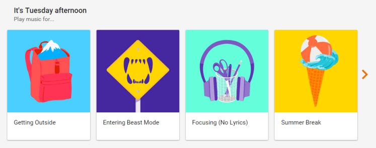 Google Play Music Radio