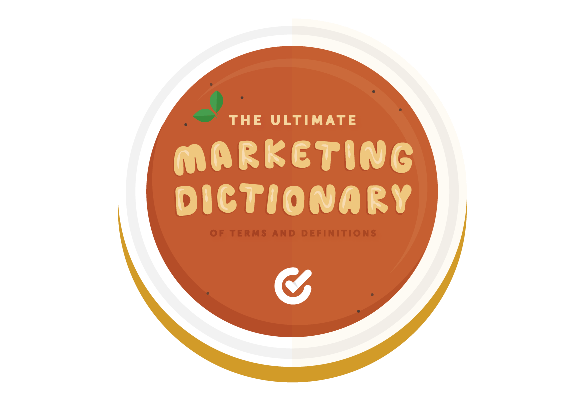 hight resolution of the ultimate marketing dictionary of terms and definitions