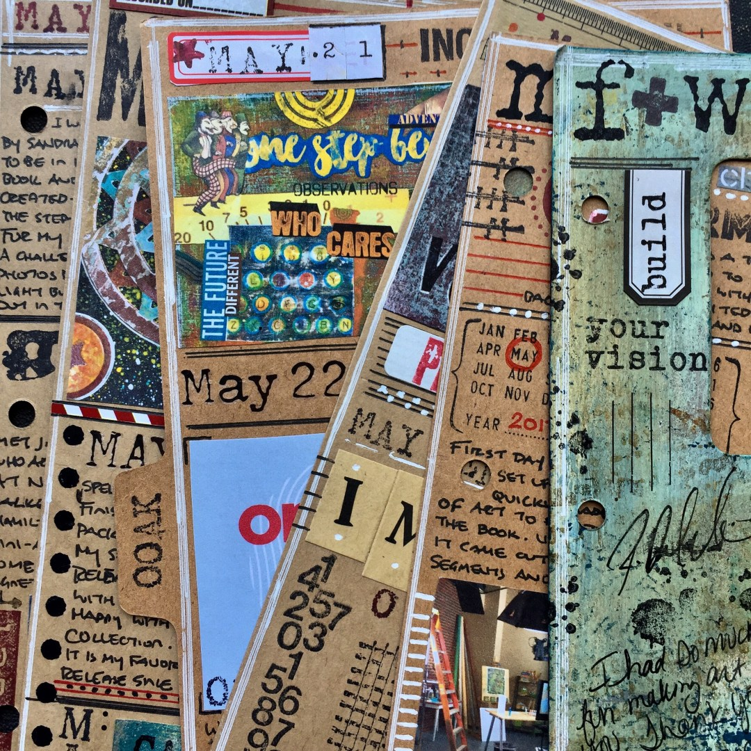 Documenting Life in Art: Mixed-Media Art Journal Planner Image 1