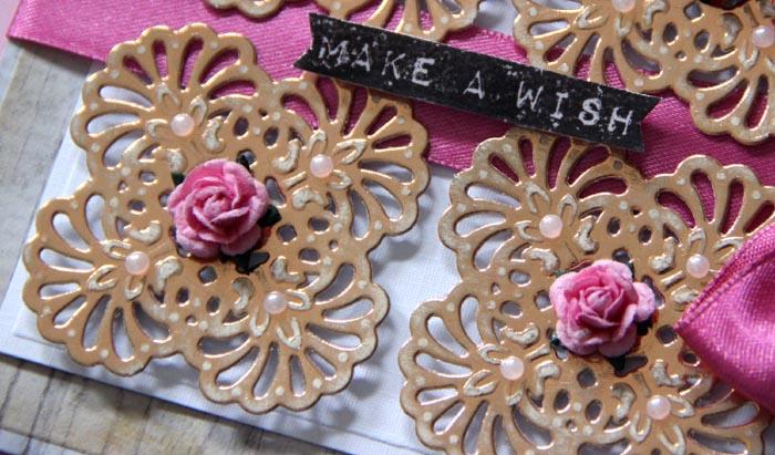 Die D-Lites Ornamental Accents: Make A Wish Card