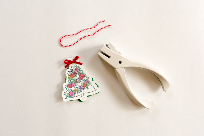 Creating Open Me Holiday Gift Tags by Alli Roth Step 5