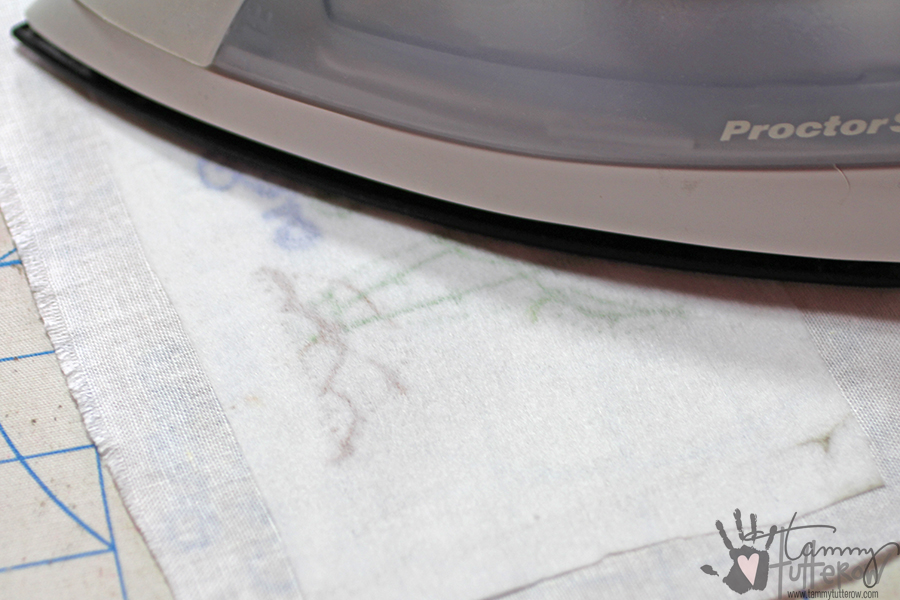 Easy Steps to Use Stamps in Embroidery: Step 14