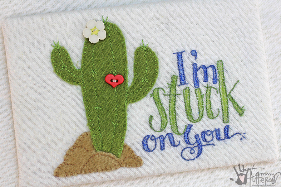 Easy Steps to Use Stamps in Embroidery: Step 17