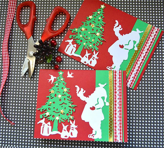 Santa Christmas Card Party with Sharyn Sowell - Step 6