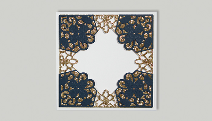 Classic Lace September Large Die of the Month | Be Kind Card Step 5