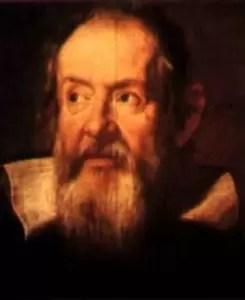 Ritratto di Galileo del fiammingo J. Sustermans. Firenze-Uffizi