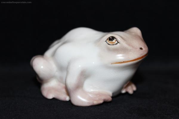 Royal Worcester Netsuke Toad