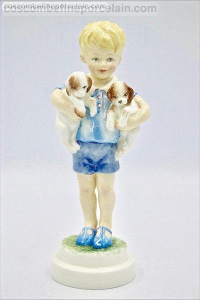 Royal Worcester Monday's child