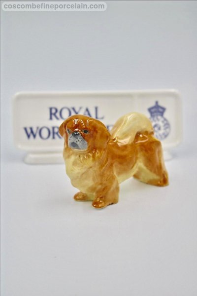 Royal Worcester Pekingese