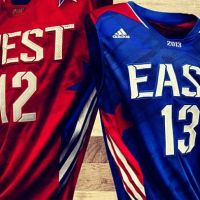 Le canotte dell'All Star Game