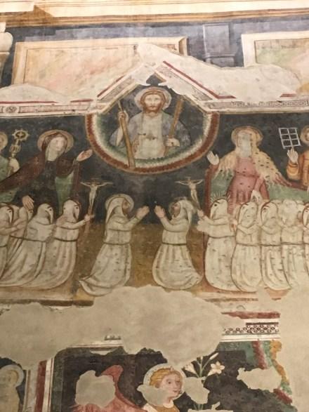 I disciplini bianchi alla ex chiesa della Maddalena