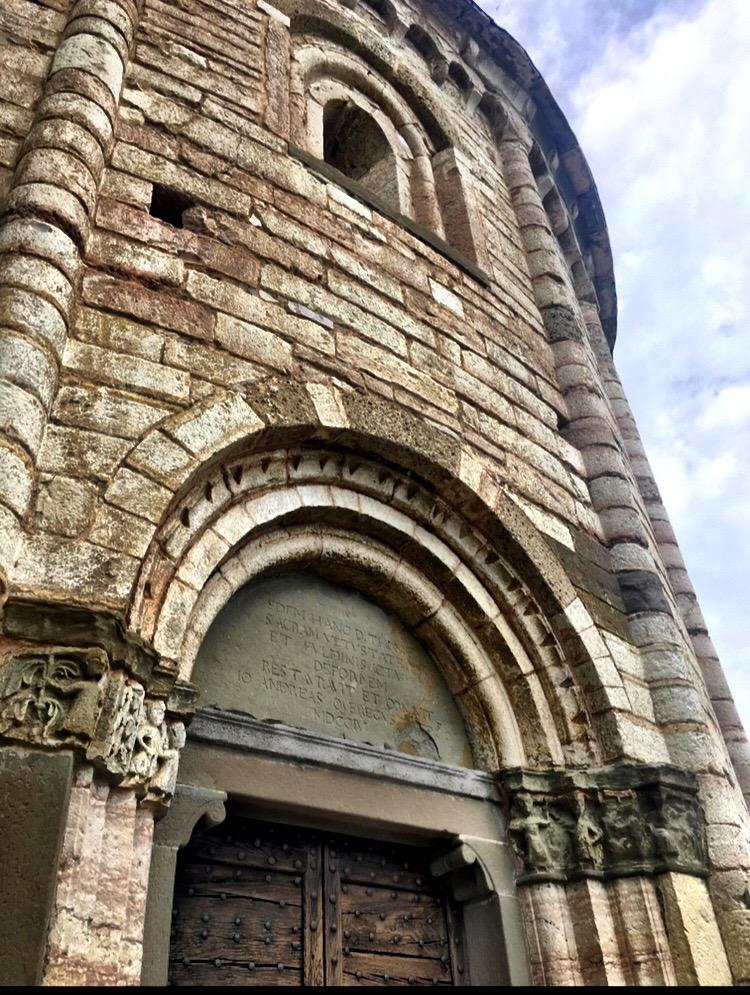 decorazioni romaniche alla Rotonda di San Tomè