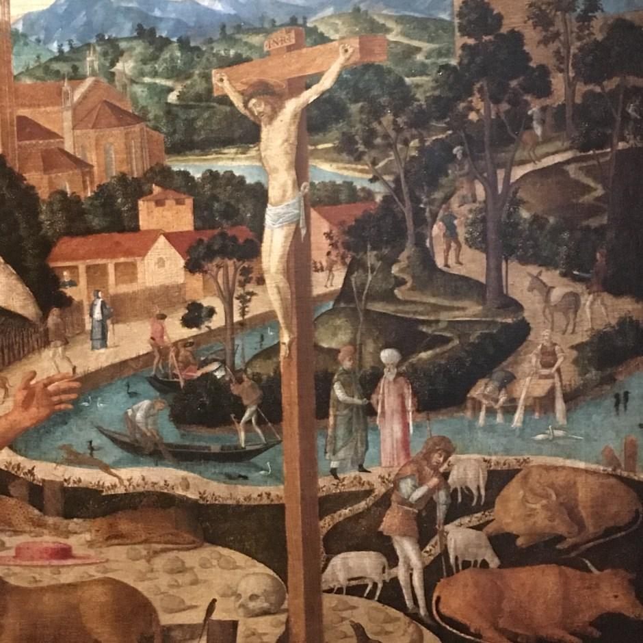 particolare di un quadro del percorso Viaggi d'Acqua