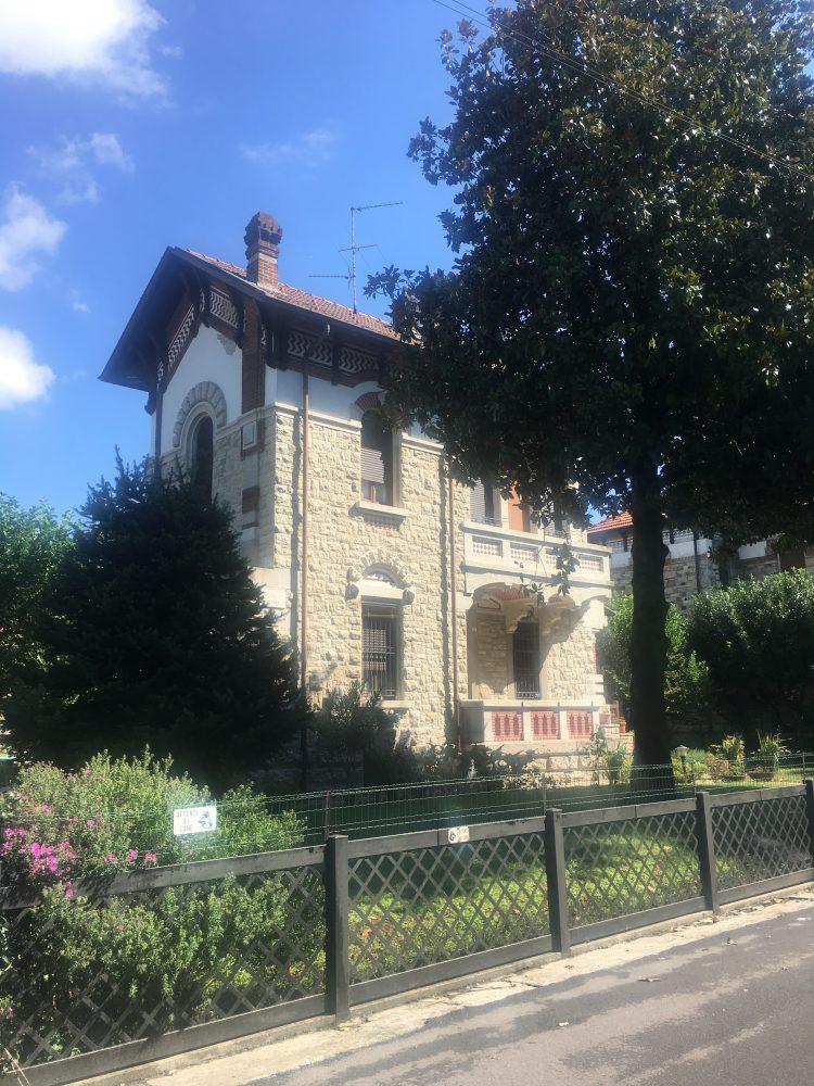 Villa liberty a Crespi d'Adda