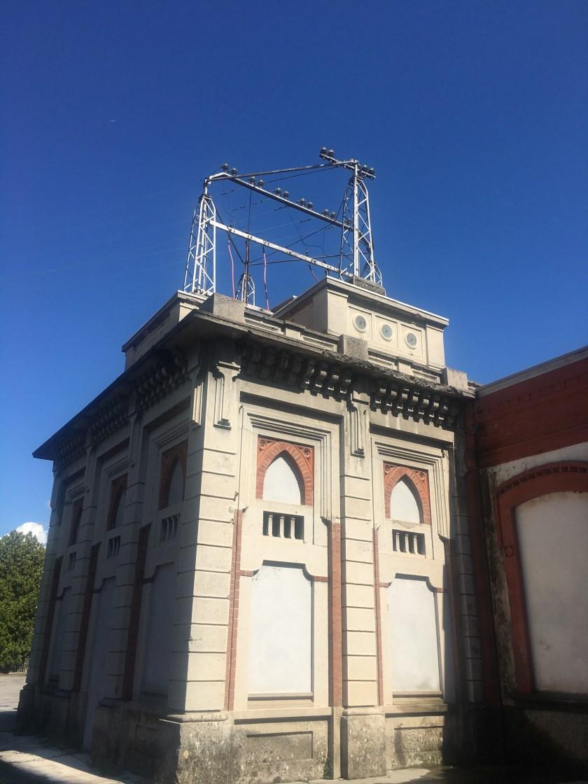 Antica Centrale che alimentava la fabbrica di Crespi d'Adda