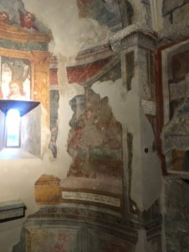 Affreschi abbazia di Fontanella