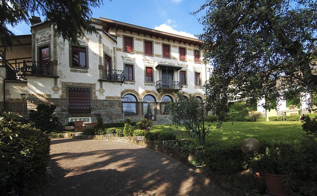 Visitare Villa Passeri, gioiello liberty di Sarnico, in compagnia del proprietario