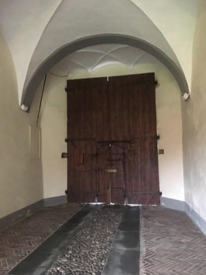 L'androne di Palazzo Sauli