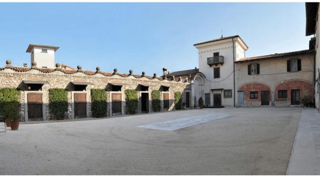 Cortile Interno Villa Tasso