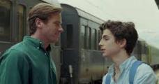 Elio e Oliver si salutano alla Stazione