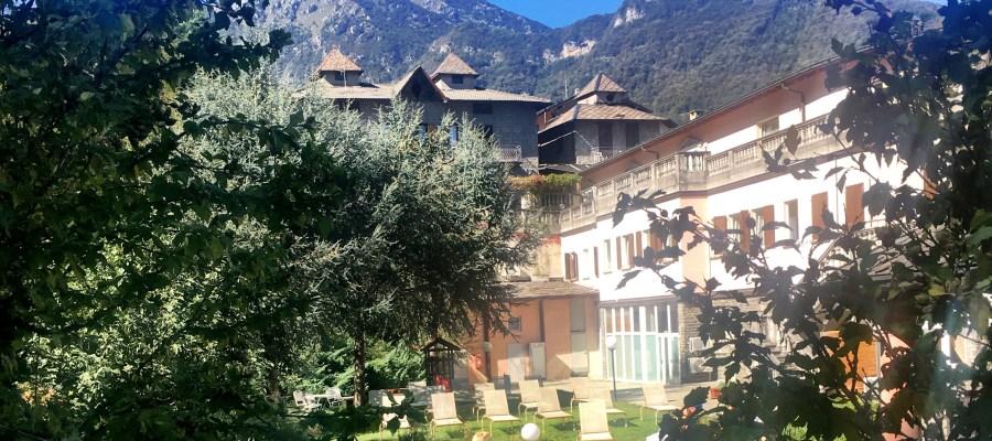 Villa Ortensie vista dal giardino