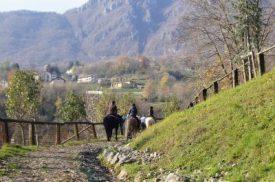 Valle Imagna a cavallo