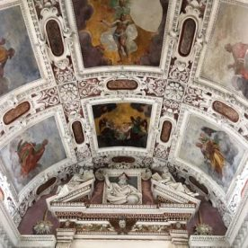 6 affreschi del presbiterio