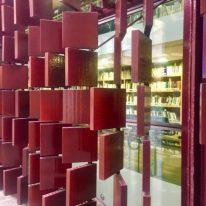 Formelle in cotto a copertura della Torre della Biblioteca