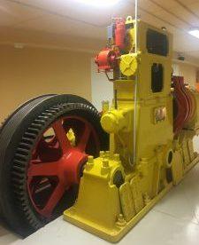 Pezzo di motore della Funicolare