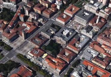 Centro Piacentiniano dall'alto