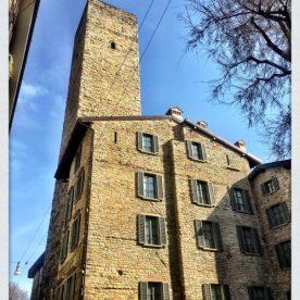 Torre del Gombito e Gombit Hotel di Città Alta