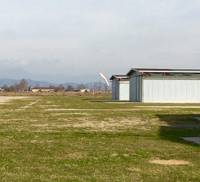 Hangar dell'Avio superficie Santa Lucia di Cizzago
