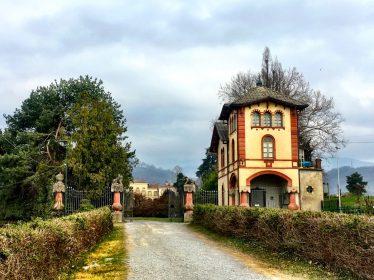 Ingresso Villa Gromo