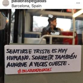 Palabras Pegadas a Barcellona